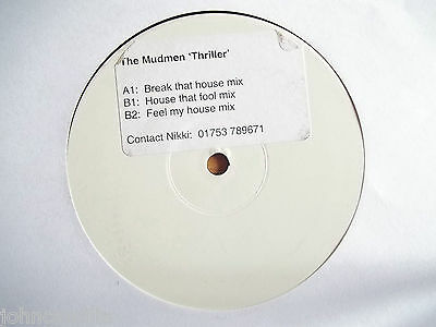 "The Mudmen - Thriller 12"" Record / Vinyl - Extatique - Xtqt 8"