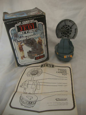 Vintage Star Wars radar laser cannon boxed