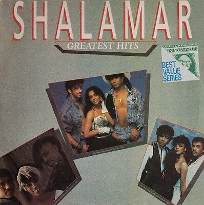 Shalamar Greatest Hits Lp Epic 1989 Rare Brazilian Pressing Fast Dispatch