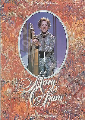 Mary O,hara  Concert Programme - Royal Albert Hall 1978
