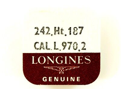 New Old Stock Longines L.970.2 Ht1.87 Cannon Pin + Driving Wheel Watch Part #242