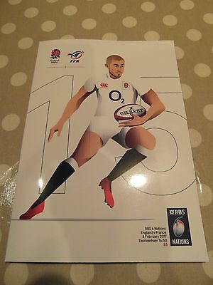 New England v France RBS Six Nations 2017 Rugby Programme 04/02/2017