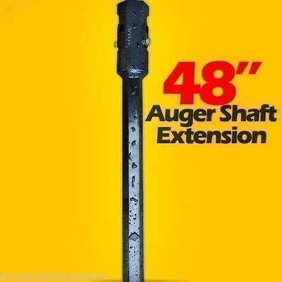 "48"" Skid Steer Auger Extension,Fits 2.5"" Round Auger Bits,Fixed Length,McMillen"