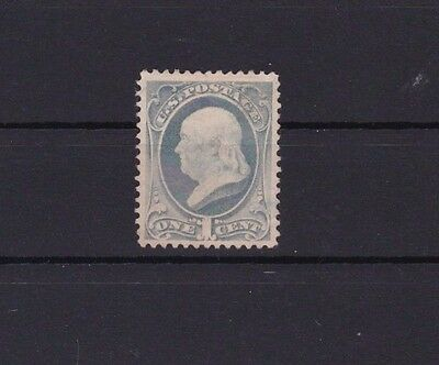 EARLY UNITED STATES  1c BLUE  1870  STAMP  R2074