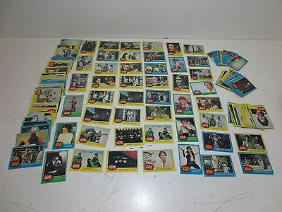 Huge Mixed Lot of 150 Vintage 1970's Star Wars Trading Cards