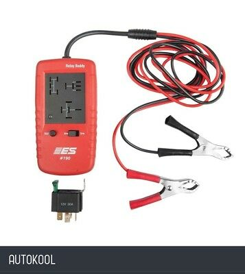 ESI Es190 Relay Buddy Automotive Auto Car Relay Tester