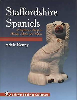 Antique Staffordshire Spaniels c1840-1900 Pottery Ref Guide incl Ridgeway Sadler