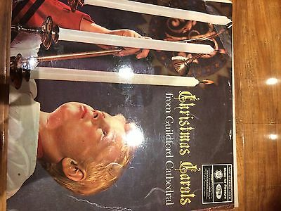 Christmas Carols From Guildford Cathedral Vinyl LP 1966