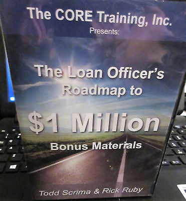 The Core Training, Inc. The Loan Officer's Roadmap to $1 Million  4 cds