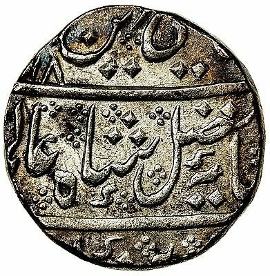 FRENCH INDIA: silver rupee, Arcot, AH(12)18 year 43