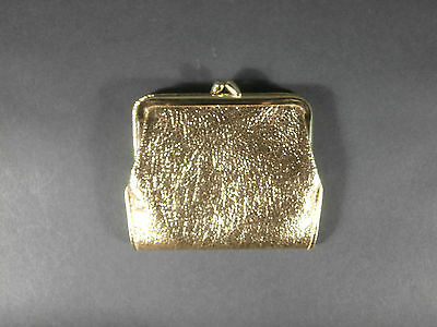 Woman's St. Thomas Classic Gold Fine Leather Clutch Purse Wallet NEW