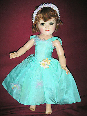 Vintage Ideal P-91 Toni Doll in Vintage Handmade Outfit