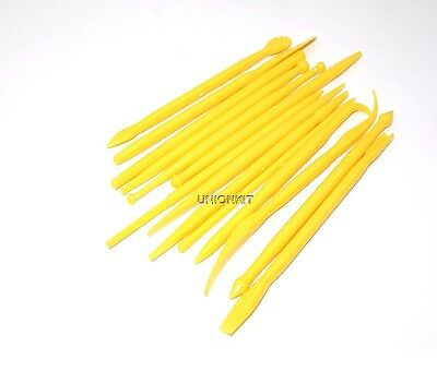 New Plastic 14 Kit Pottery Polymer Mud Clay Ceramic Sculpture Model Cake Tools
