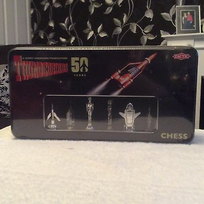Gerry Anderson - Thunderbirds - Chess Set - 50 Years - Sealed