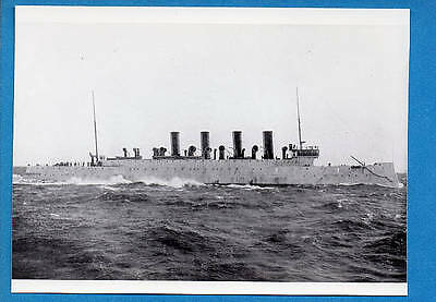 1900s US Navy Protected Cruiser C-12 USS Columbia Photo