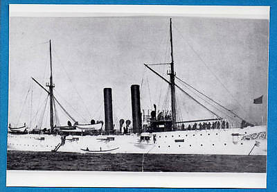 1900s US Navy Cruiser C-11 USS Marblehead Photo
