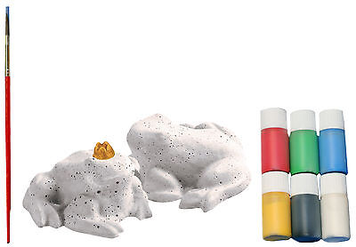 Casting mould Frog small 2 Pieces 8,5x10x5cm Complete Set