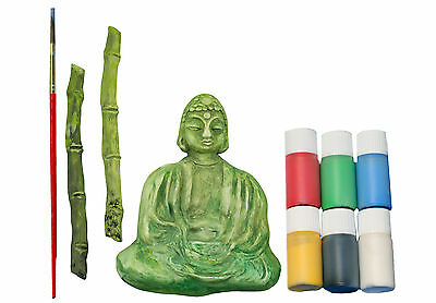 Casting mould Buddha with Bamboo Complete Set