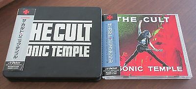 THE CULT Japan LIMITED EDITION metal case SONIC CD box set IAN ASBURY others ava
