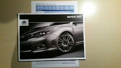 Subaru WRX STi Brochure 2011 (4 Door/5 Door/Type UK)