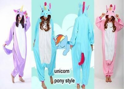 Unicorn Tenma Unisex Onesie Sleepwear Kigurumi Pajamas Animal Cosplay Costume