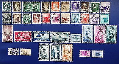 ITALY - 1928-1951 Collection of Used & MH Stamps