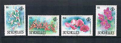 Seychelles 1988 Orchids SG 713/6 MNH