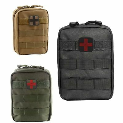 Outdoor Travel Molle Utility Medical Pouch Tactical 600D EDC Emergency Tool Bag