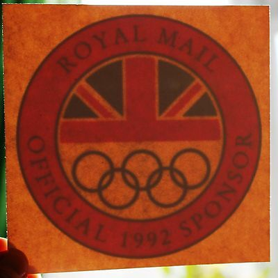 Royal Mail Official Sponsors 1992 (Olympic Team)