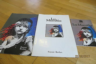 Michael Ball in 'Les Miserables' 1985 + 1986 (Brochures and Programme)