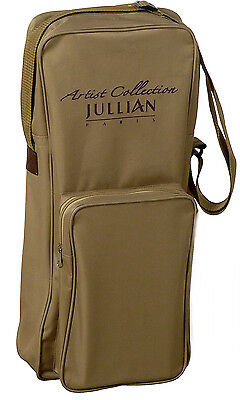 CANVAS EASEL BAG by JULLIAN OF PARIS WITH ACCESSORY POCKET