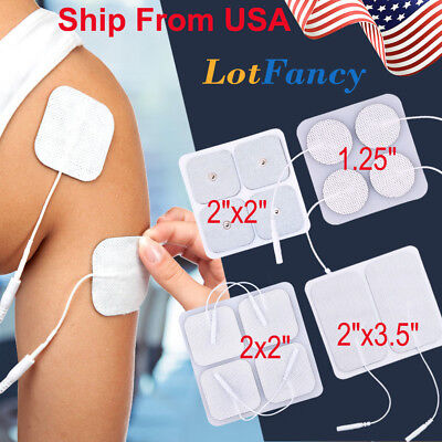 40x TENS Electrode Pads Replacement for Unit 7000 3000 Back Massage EMS Machine