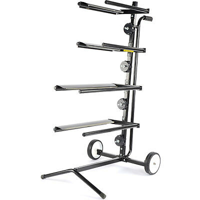 JEGS Performance Products 81230 Mobile Masking Paper Stand Holds (2) 18 & (2) 12