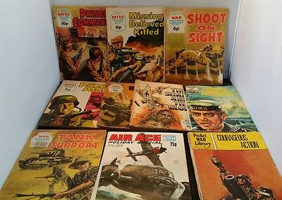 POCKET WAR AIR ACE BATTLE PICTURE LIBRARY collection NO.1000 comics