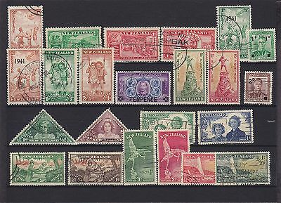 New Zealand KGVI Used Collection (3)