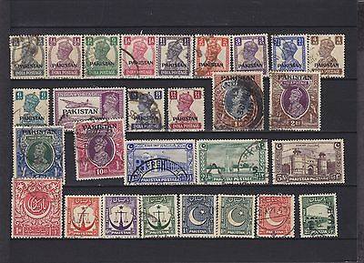 Pakistan KGVI Used Collection (1)