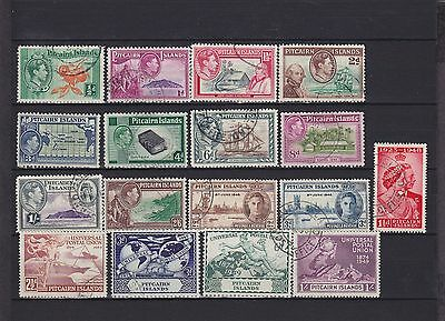 Pitcairn Islands KGVI Used Collection