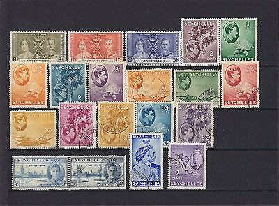 Seychelles KGVI Used Collection