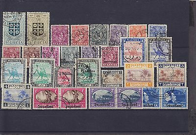 Mixed Commonwealth KGVI Used Collection
