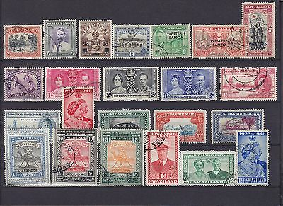 Mixed Commonwealth KGVI Used Collection (1)