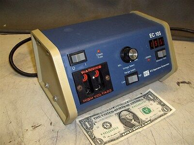 E-C Apparatus Corp Ec-105 Ec 105 Compact Electrophoresis Power Supply Tested