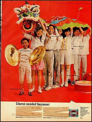 1968 Vintage ad for CLORAX Bleach   (052212)