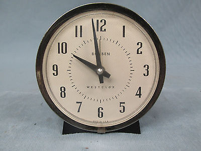 Vintage Big Ben West Clox Alarm Clock