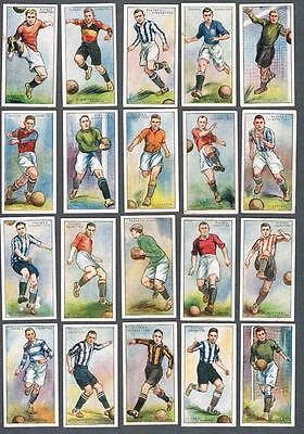 1928-29 John Player Footballers 1928-9 2nd Series Tobacco Cards Complete Set