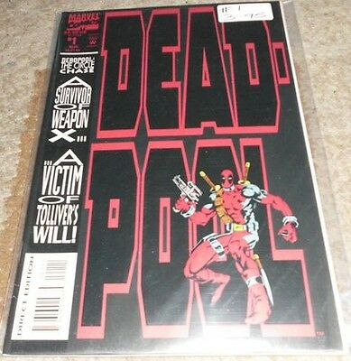 Deadpool The Circle Chase (1993) #1A...Published Aug 1993 by Marvel.