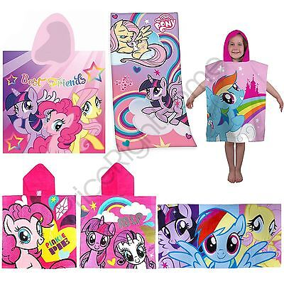 My Little Pony Towels & Hooded Poncho Towels - Childrens Beach / Bath Official