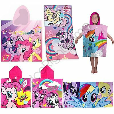 My Little Pony Towels & Hooded Poncho - Girls Childrens Beach Bath Official