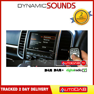 AutoDAB FM Universal In Car Adaptor DAB DAB+ Digital Radio With FM + Antenna