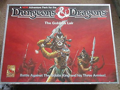 Tsr D&d The Goblins Lair  Big Box 1076 Vgc Boxed Dungeon Dragon