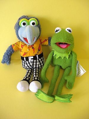The Muppets Kermit The Frog & Gonzo Soft Toy Set / Jim Henson 2004 / Muppet Show